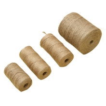 30/100Meters Natural Vintage Burlap Jute Rope Crafts Sewing DIY Jute Cord Ribbon String Twine Hemp Wedding Party Home Decoration