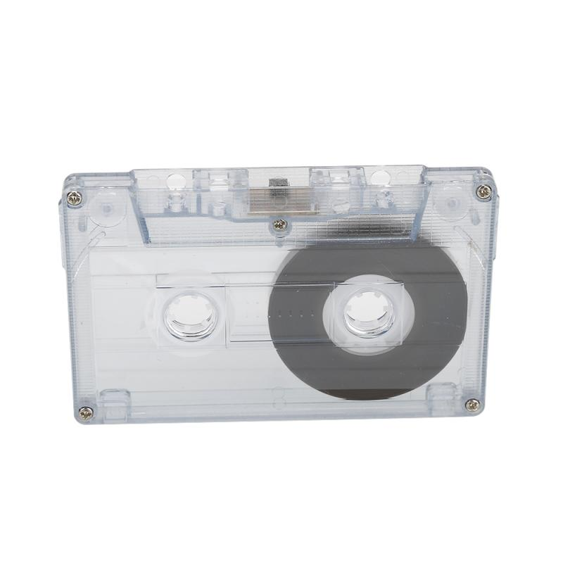 Cassette Blank Tape-Player Audio-Tape Recording Standard for Speech with 60-Mins Magnetic title=