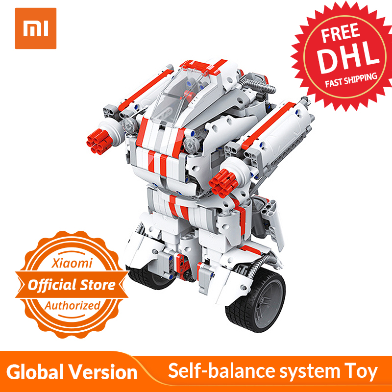 Xiaomi Building-Block Robot Smarter-Toys Remote-Controlled Kids Child for by APP Self-Balance-System-Toy title=
