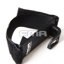 FMA Shoulder Mount Sling Fixed Anchor Hook Clip Molle Chest Rig Airsoft Aluminum