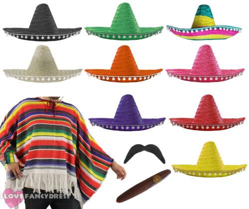 Wild West Costume Fancy Dress Hat and Bandanna Paisley Unisex Cowboy Bandit