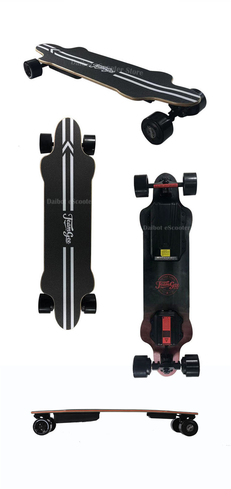 Electric Skateboard For Adult 4 Wheels Electric Scooters Double Drive 600W 36V 40KMH Longboard Electric Skateboard (26)