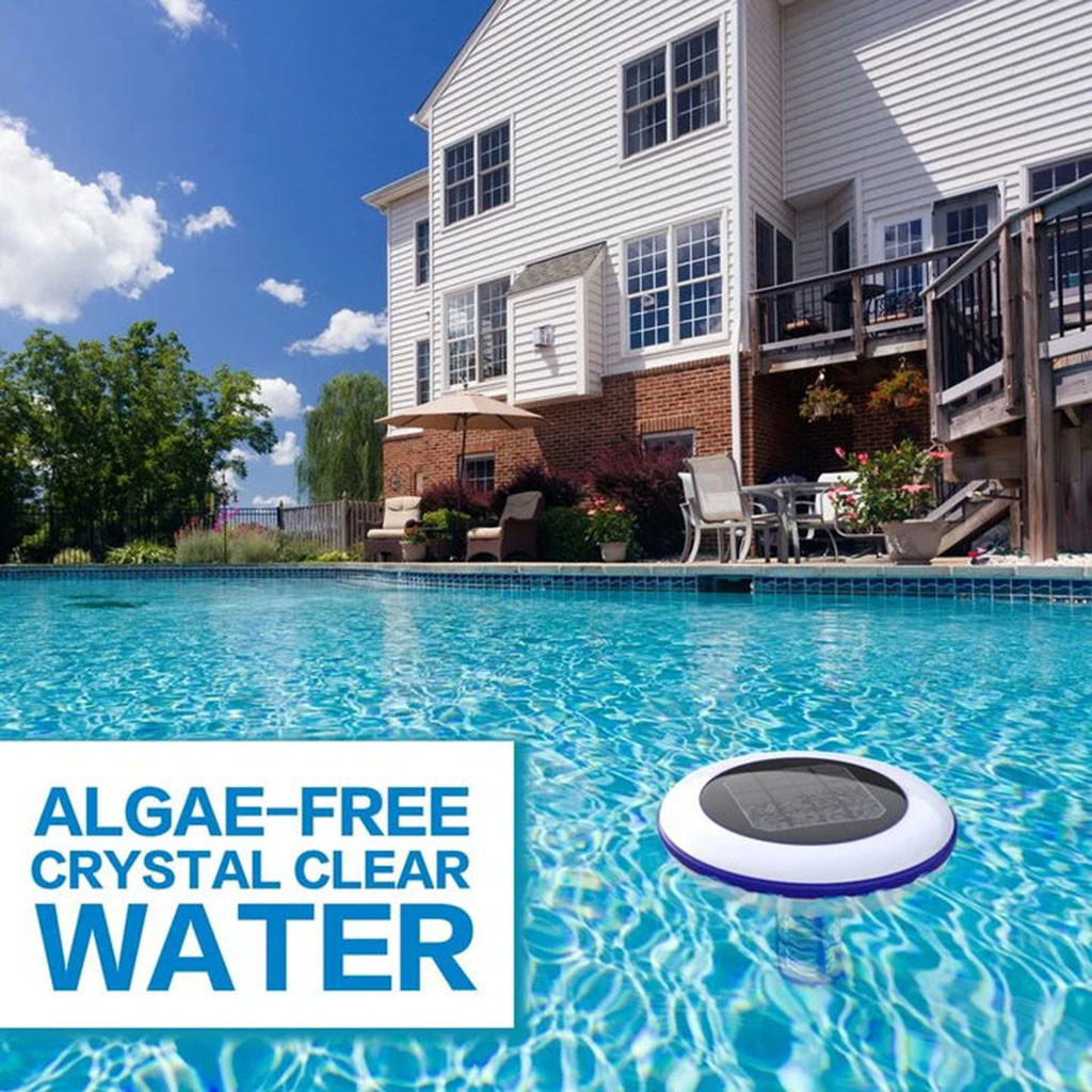 Water - Solar Pool-Ionizer Copper Silver Ion Swimming Pool Purifier Water Purifier Kills Algae Solar Pool Ionizer