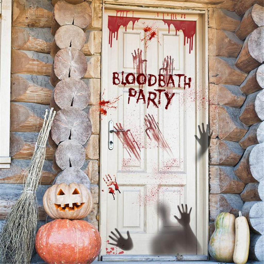 HALLOWEEN HOLIDAY SCARY PUMPKINS GHOSTS ZOMBIE DECORATION FRIDGE MAGNET #45