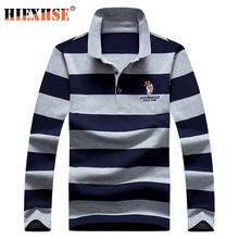 Polo-Shirts Long-Sleeve Men's Casual High-Quality Embroidery Autumn New-Arrival