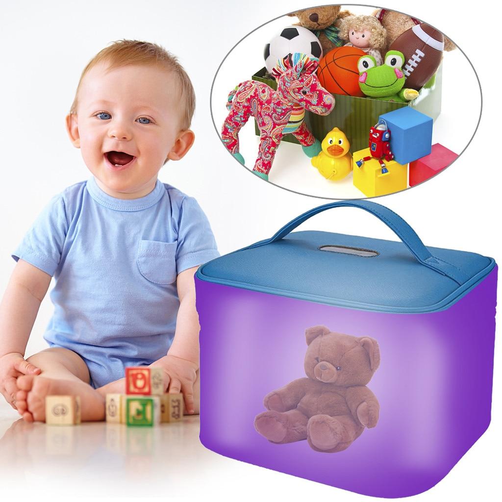 Person - Blue Disinfecting Box UV Sterilizer Box USB Disinfecting Bag Cleaner Disinfection Cabinet Sterilization Box Storage Box