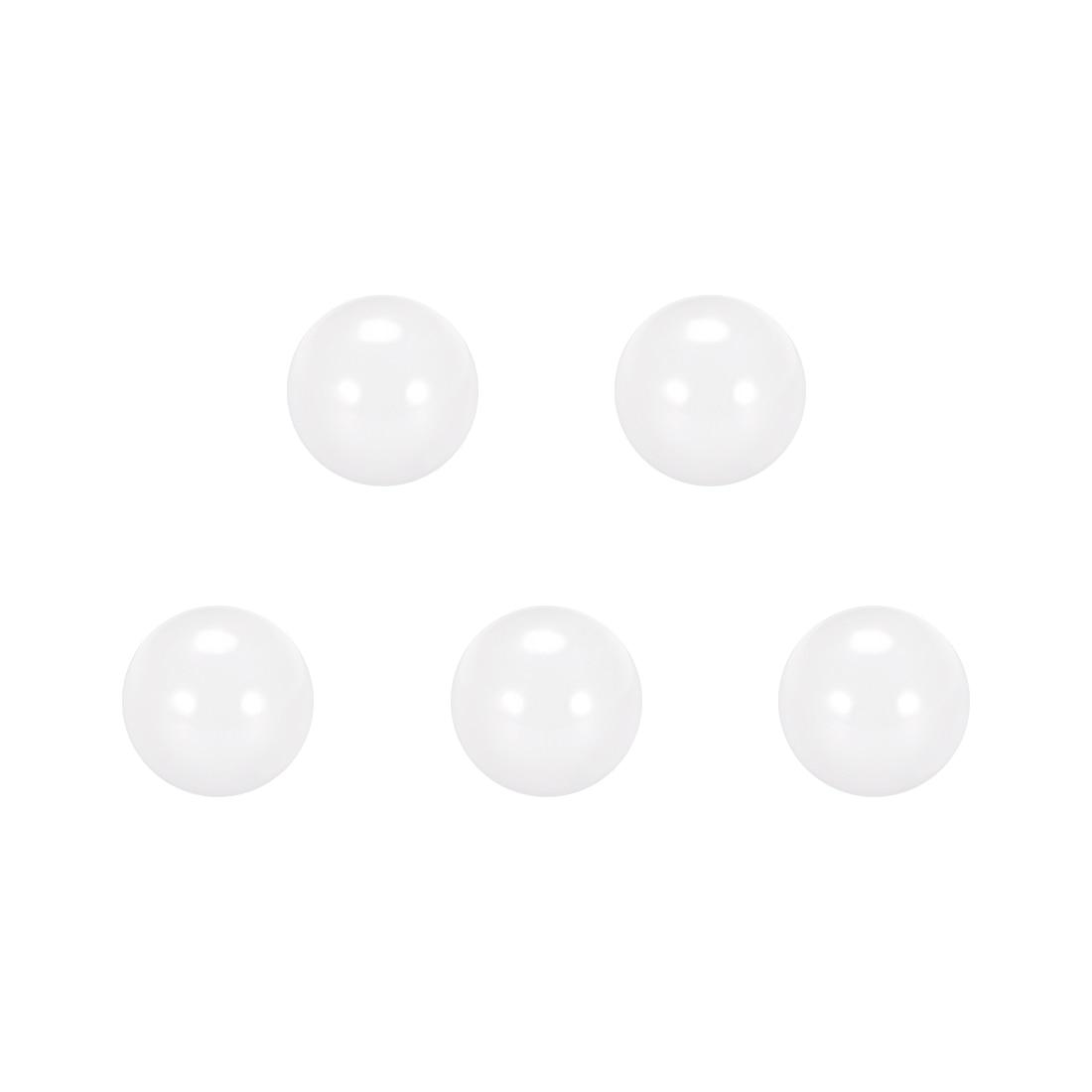 uxcell 3//16 inches Ceramic Bearing Balls ZRO2 Zirconium Oxide Ball G5 Precision 5pcs