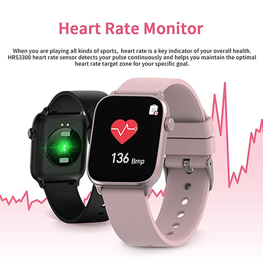 Hardware - IP68 Waterproof Smart Watch Men Round Screen Heart Rate Blood Pressure Monitoring Smart Watch