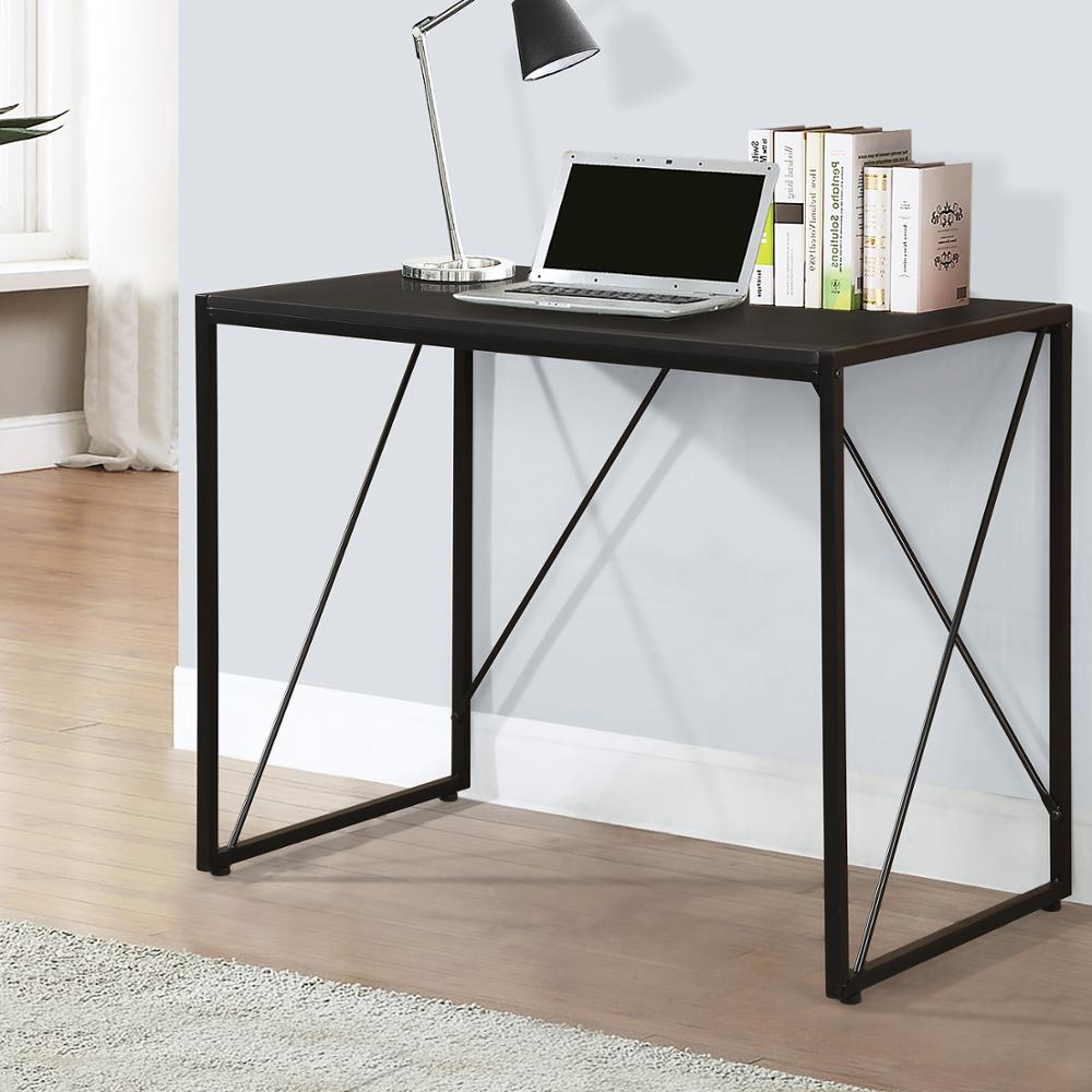 Desk Sofa-Table Computer-Desk Folding Bookshelf title=
