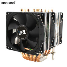 CPU Heatsink Cooler Cpu-Fan Dual-Tower AMD Intel Master 3-Pin BINGHONG High-Quality