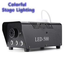 Light Smoke-Thrower Family Ball Disco Dj Party 500W with Remote RGB LED Leisure Colorful