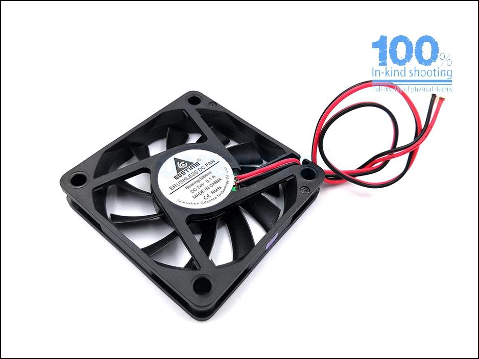 6010 Brushless Fan DC 5V 12V 24V 60X60X10mm Computer PC CPU Case Cooling Fan 6cm 60mm USB 2PIN 3PIN Cooler Fans  free shipping 13