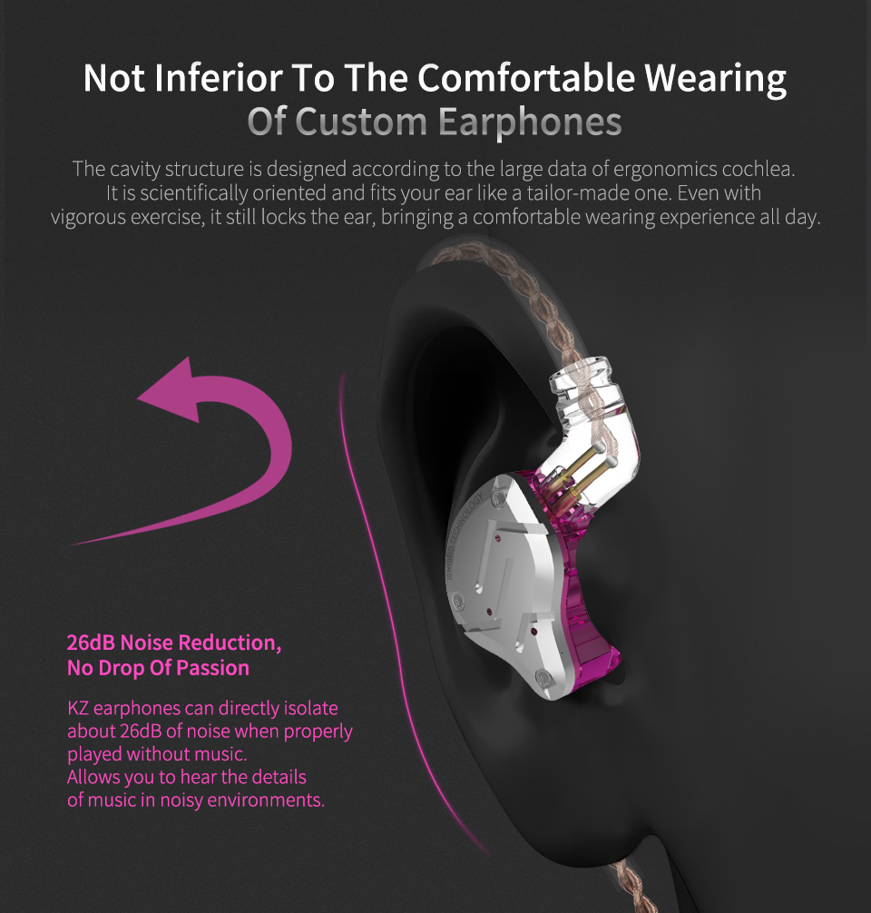 Kz zs10 pro 4ba+1dd kz hybrid earphone headset hifi earbuds in ear monitor headphones earbuds for kz as10 zs10 zsn pro