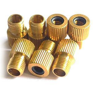 10Pcs Bicycle Bike Presta To Schrader Tube Pump Tire Gas Valve Adapter Convert Repair