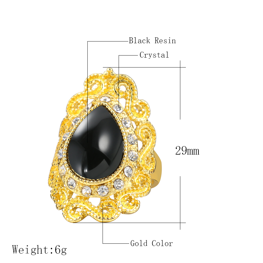 2016-Fashion-Black-Ring-Women-s-Jewelry-Gold-Color-Austrian-Crystal-Rings-Mosaic-Water-Drop-Resin (1)