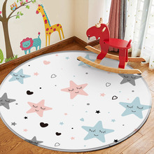 Rug Carpet-Rug Play Animal Baby Children's-Room for Round in The Puzzle-Game Learn Good-Quality