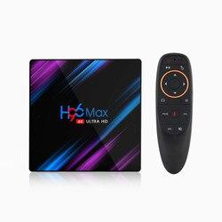H96 MAX RK3318 Android 10,0 Smart TV Box 2,4G & 5G Dual Wifi BT4.0 2020 H96Max медиаплеер Google Voice Remote