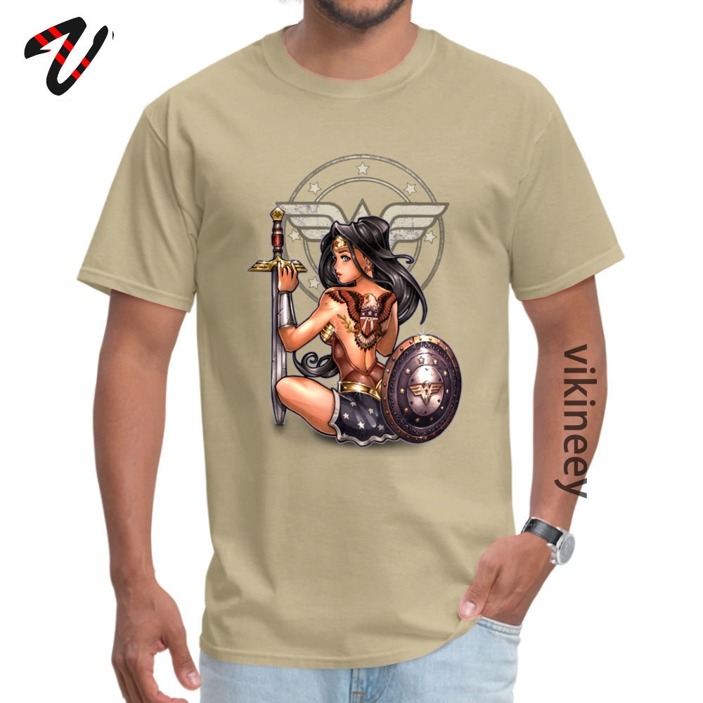 amazon_ Group T Shirt for Men All Cotton Fall Tops Tees Funny Tops & Tees Short Sleeve Funny Round Neck Wholesale amazon_1233 beige