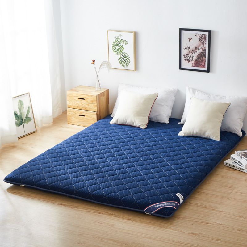 Fitted Mattress Quilted Floor Futon Mattress Soft Thick Foldable Mattress Comfort Portable Camping Sleeping Guest Bed title=
