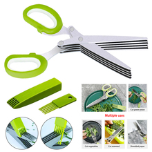 Vegetable-Scissors Green Onion Multi-Layer Office-Paper