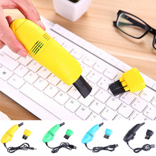 Portable Mini Computer Vaccum USB Keyboard Cleaner PC Laptop Cleaning Brush NEW