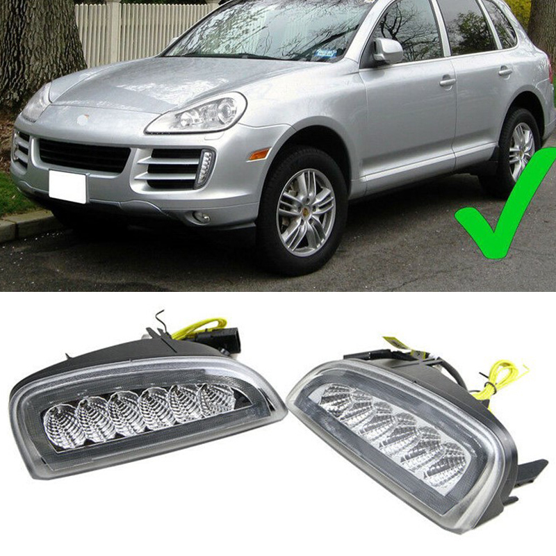 OEM Front Right Tow Hook Cover Cap For Porsche Cayenne 2007-2010 95550515610G2X