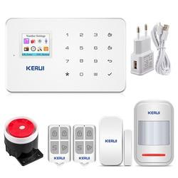 KERUI WIFI GSM охранная сигнализация  Русская прошивка Дистанционное управление Приложение для IOS/Android
