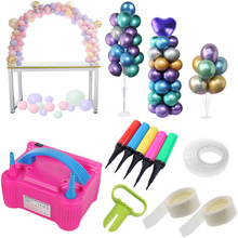 Clips Balloon-Accessories Ballon Air-Ball-Pump Glue-Dot Bubble Globos