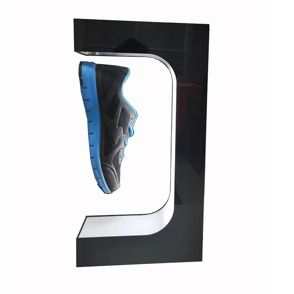 Magnetic Levitation Floating shoe bottle gedgets shop product's Sample display stand,holds 500g weight,levitation gap 20mm title=