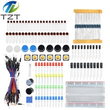 Starter-Kit for Led/capacitor/jumper-wires/Breadboard-resistor-kit with Retail-Box TZT