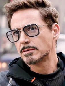 RFOLVE Sunglasses Men Uv-Goggles Spiderman Avengers Tony Stark Travel RX223 3-Iron The