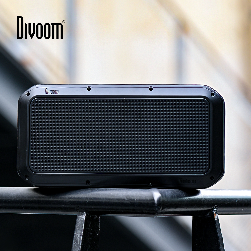 Divoom Voombox Pro Portable Bluetooth Wireless speaker 40w Super bass with 10000 mAh for 18-Hour Playtime  IPX5 Water-Resistant