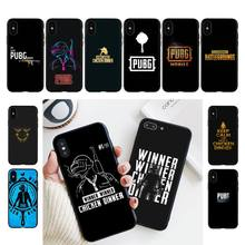 YNDFCNB PUBG Winner Phone Case For iPhone 11 8 7 6 6S Plus X XS MAX 5 5S se 2020 11 12pro