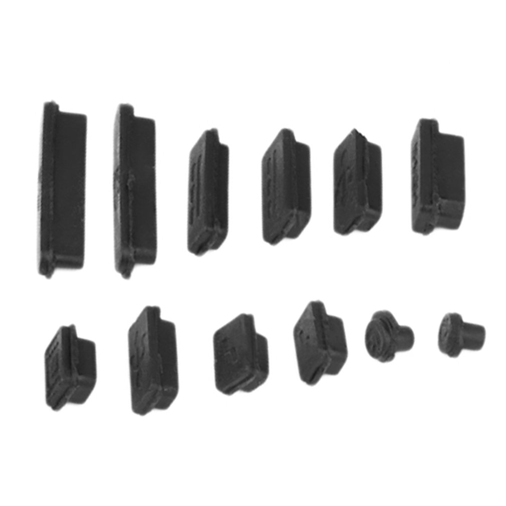 4Set Gel Protective Anti-Dust USB Plug Cover Stopper for Xiaomi Pro 15.4/'/'