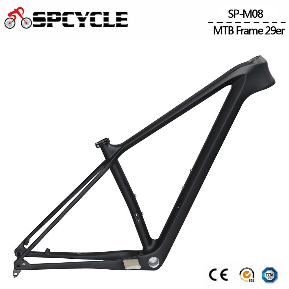 Carbon MTB Bicycle Frames Mountain-Bike-Frame Boost New BSA 148--12mm 15/17/19- title=
