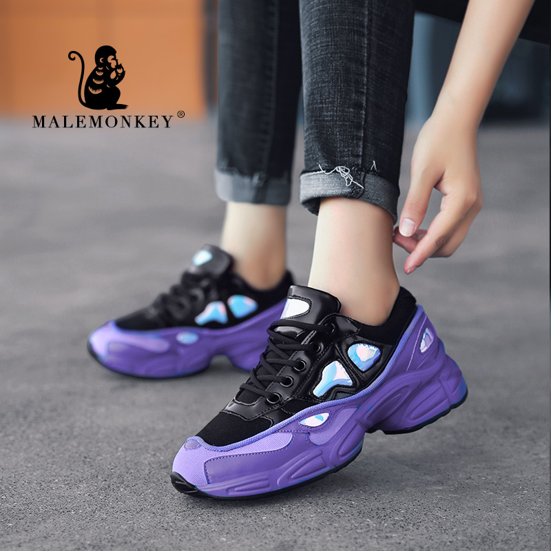 MALE MONKEY 831619 New Fashion Women Running Sneakers 2020 Female Thick Sole Girls Sport Shoes Walking Ladies Sneakers