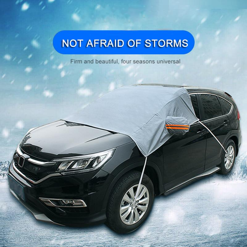 Car-Covers Anti-Frost Waterproof Outdoor Auto Winter Snow-Glass Thickening title=