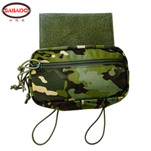 Pouch Vest Chest-Rig Hunting-Accessories Tactical-Sack Abdominal-Drop-Down for D3 MK3