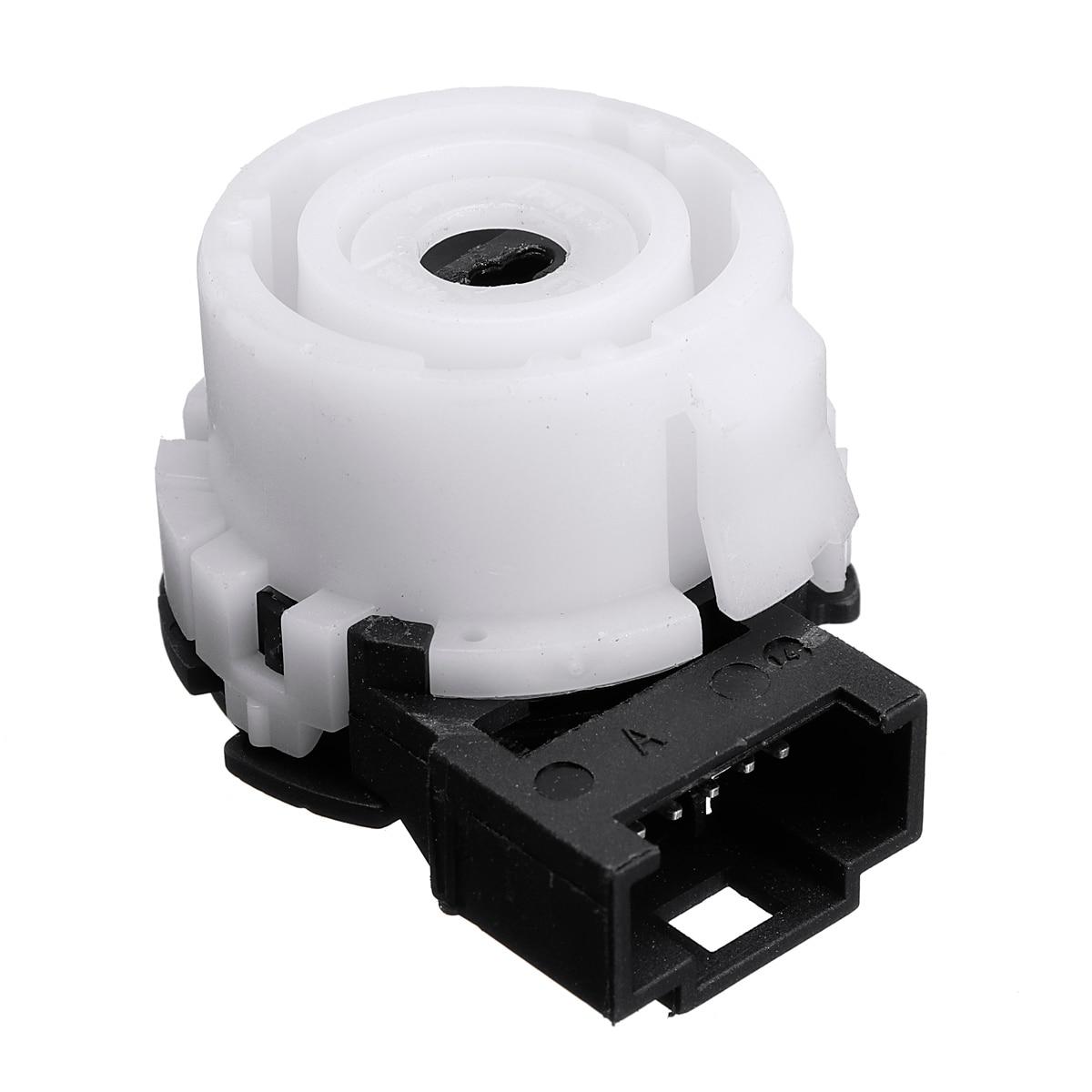 Interruptor de encendido Interruptor de encendido Bloqueo de direcci/ón Barril Carcasa para Asiento 1K0905851B 1K0905865