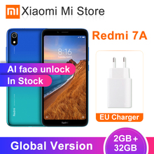 Xiaomi Redmi 7A 2GB 32GB GSM/CDMA/LTE/WCDMA Octa Core Face Recognition 12MP New Mobile-Phone