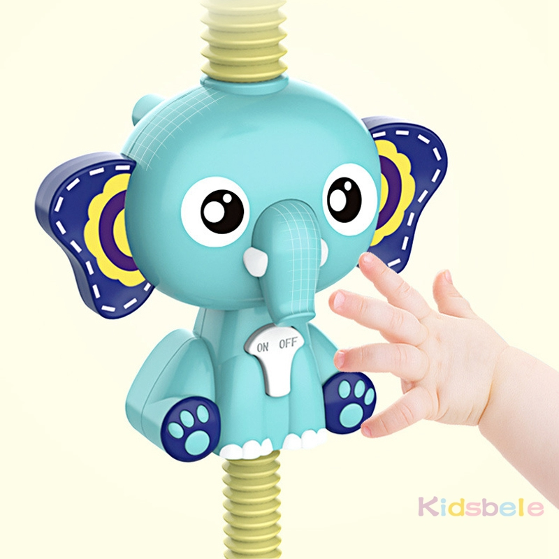 Bath Toys Baby Water Game Elephant Model Faucet Shower Electric Water Spray Toy For Kids Swimming Bathroom Baby Toys-05