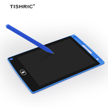Writing-Tablet Stylus-Pen Touch-Pad Color-Screen TISHRIC LCD with Educational Graphics