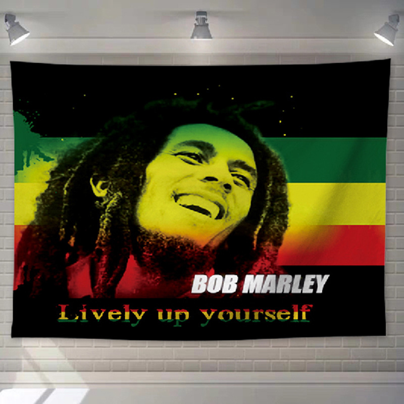 Couvre canapé Rastafari Jamaïque | Rasta-Lion