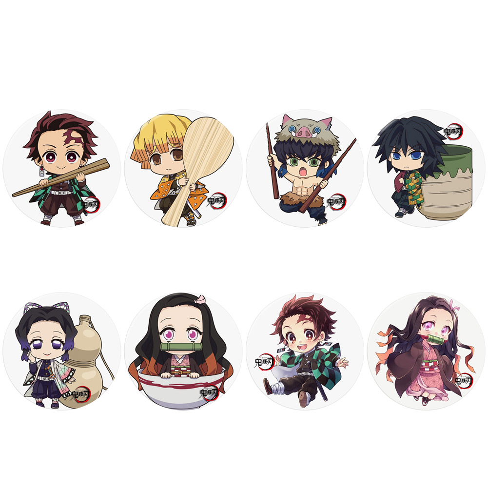 Kawaii Anime Demon Slayer: Kimetsu no Yaiba Kamado Tanjirou Pin Button Brooch Badge