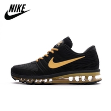 Running-Shoes Sneakers Fitness Air-Max Light-Cozy Shockproof Original Nike Low Men