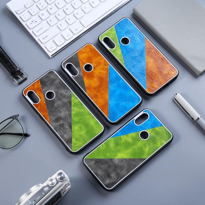 Silicone Leather Case For Xiaomi Redmi Note 7 Case Cover Redmi Note 8 Pro 5 Plus 6 6A 7A S2 K20 Poco F1 Mi 9T A3 A2 Lite Bumper