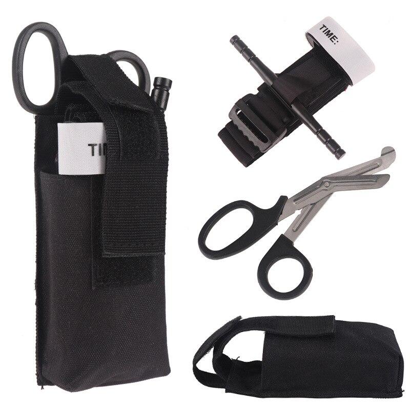 KaiYunSheng Torniquete de Emergencia 2 Pack Cintur/ón de Primeros Auxilios Senderismo al Aire Libre T/áctico Botiquines de Primeros Auxilios para Viaje y Acampada