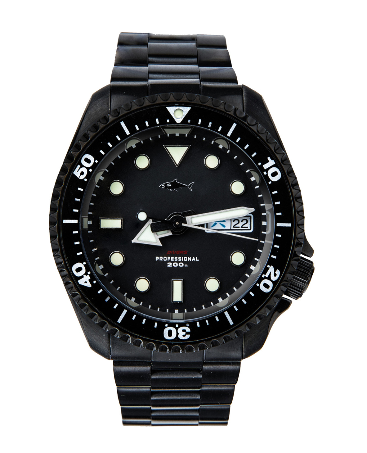 Waterproof Watch Mechanical-Diving Business SKX007 Sport Luminous Casual Automatic title=