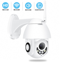BESDER Ip-Camera Pan Tilt Audio-Sd-Card Video-Surveillance Speed-Dome Outdoor Wifi Ir-Vision