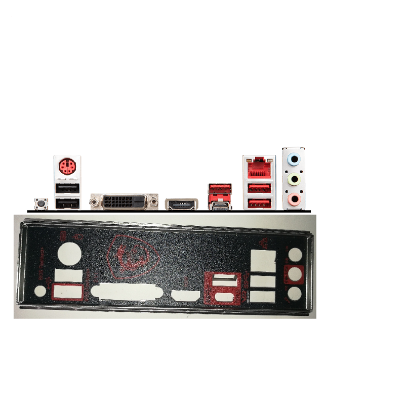I//O Shield For MSI H97 GAMING 3 /& Z97 GAMING 3 Motherboard Backplate IO